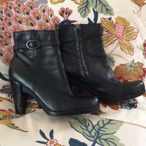 Black Reba booties